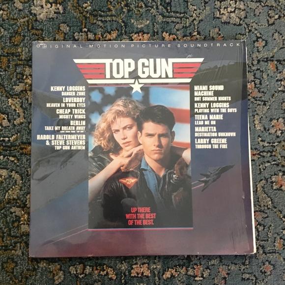 Top Gun Motion Picture Soundtrack Vinyl LP